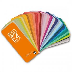 德国劳尔 EFFECT E4 包含70个实效系列的金属色扇形色卡