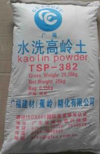 广福建材 涂料和粉体建材用 水洗高岭土 TSP-382