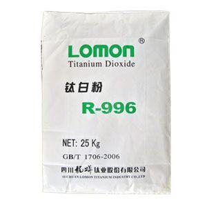 龙蟒 LOMON 金红石型 钛白粉 R-996
