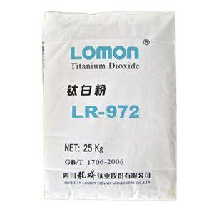 龙蟒 LOMON 金红石型 钛白粉 LR-972