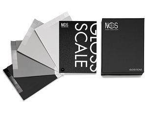 瑞典NCS GLOSSY SCALE 光泽标尺 NCS-9